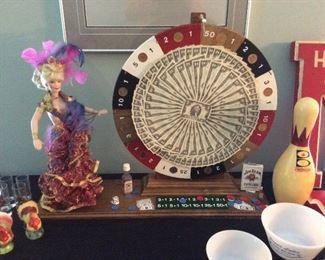$ 2.00  bill roulette fun wheel
