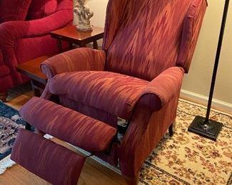 It's a recliner!