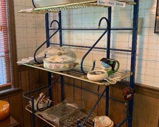 Large Baker's rack - 4 shelfs