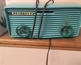 . . . Wow!  a neat retro Motorola radio -- a nice find