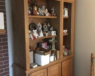 . . . a beautiful oak book case