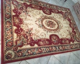 """$100 Shaw rug 5'3"""" x 7'10""""  there are two of these rugs available"""