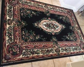 """Garden collections Shiraz 5' 3 """" x 7' 6""""area rug $100"""