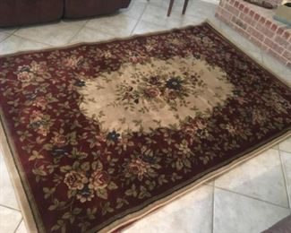"Chandler Sherry 5'3"" x 7' 10"" area rug by beaulieu $100"