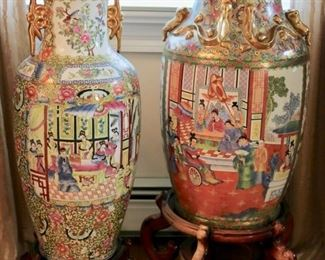 Chinese Floor Urns
