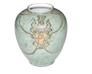 4. Decorative Armorial Vase
