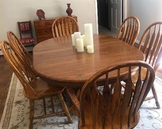 dining set 6 chairs expands