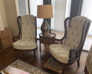 Set of arm chairs