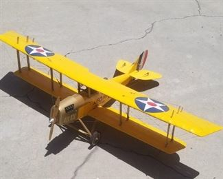 R. C. Electric Jenny Biplane