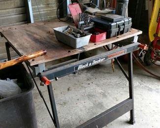 drill press workbench