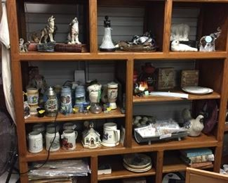 Asst Beer Steins and more