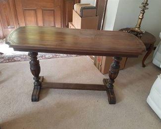 Sofa Table - Leg Needs Glued