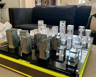 Lucite Chessboard by Jonathan Alder (MSRP $795)