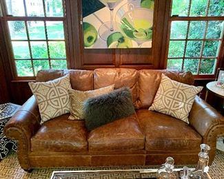 Vanguard Leather Sofa!
