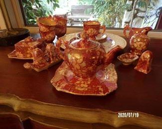 nice set of glass ware