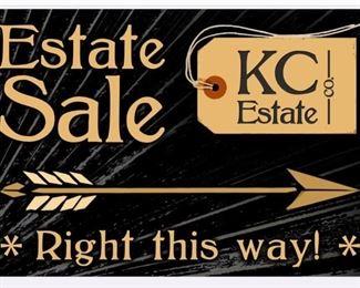 Estate Sale Sign