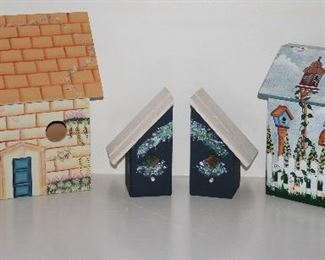 Wood Craft Birdhouse Collection