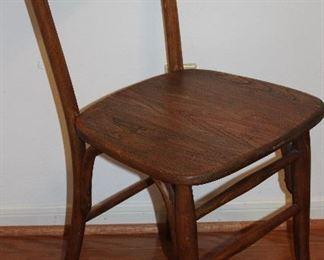 Antique Bentwood Oak Side Chair