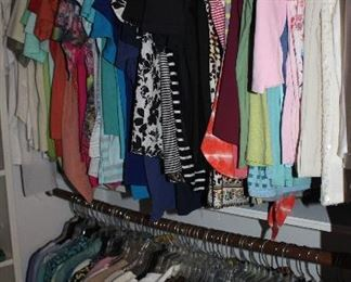 Lots of great Name Brand blouses, tees, sweaters and jackets