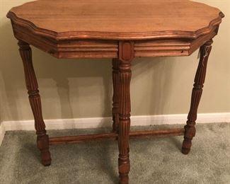 Depression Era Walnut Side Table