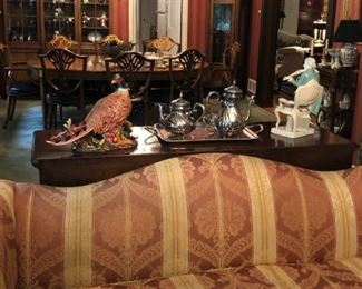 Grandfather Clocks, Royal Danica, Royal Copenhagen, Royal Doulton, Figurines, Tureens, Royal Copenhagen Dinner Set and more