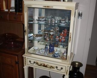 DECORATIVE DISPLAY CABINET, ITEMS MADE IN JAPAN
