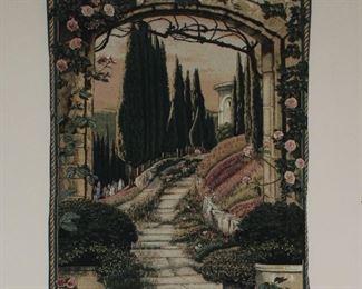 Beautiful Garden Path Wall Tapestry