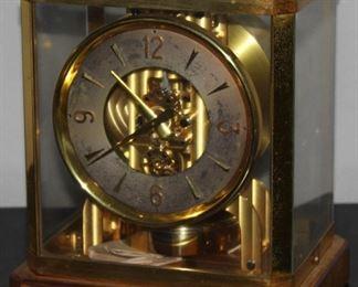 """Vintage Jaeger-LeCoultre Atmos Clock C.1950-1970? (8.W x 6.5""""D x 9 1/4""""H)"""