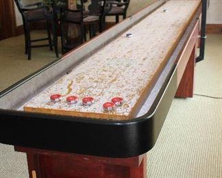 2nd view: Champion Shuffleboard , American Shuffleboard CO.  18 ft.