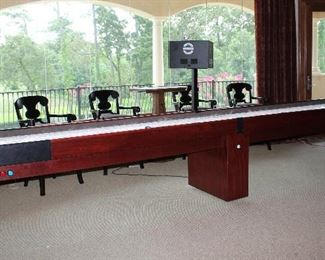 Champion Shuffleboard, American Shuffleboard CO.  18 ft. Complete with Accessories