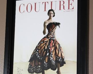 """Luly Yang, """"The Butterfly Girl"""" October 1968 Couture Magazine Cover Wall Art (11 x 14)"""