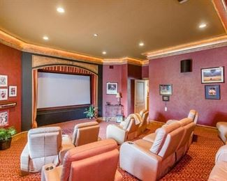 Theater Room: 2nd View