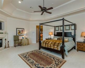 Master Bedroom down stairs: