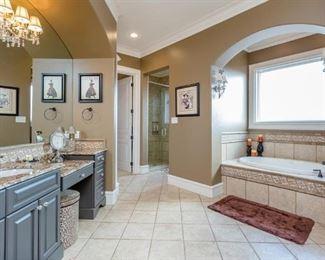 View of upstairs Bathroom Suite