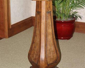 Octagon Bistro Pedestal Table