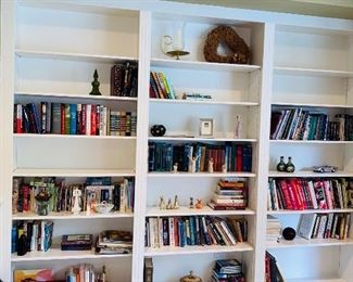 BOOKS AND HOME DECORATIONS