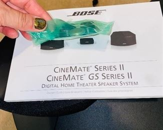 $250 BOSE CINEMATE GS SERIES 2 DIGITAL HOME THEATER SPEAKER SYSTEM