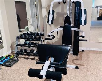 $650 IMPEX FITNESS PRODUCTS MARCY MACH 4 HOME GYM