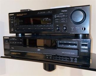 $50 SONY AUDIO VIDEO CONTROL CENTER RECEIVER STR-D665 $45 SONY COMPACT DISC PLAYER CDP-C235