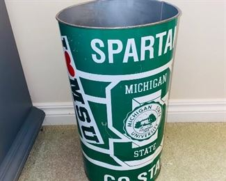 $15 SPARTANS GARBAGE CAN