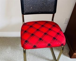 $12 RED SIDE CHAIR
