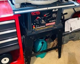 $150 CRAFSTMAN 10-IN TABLE SAW