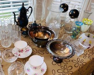 STEMWARE / CRYSTAL / GLASSWARE / TEACUPS / SILVERWARE