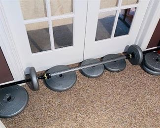 $150 SET OF WEIGHTS