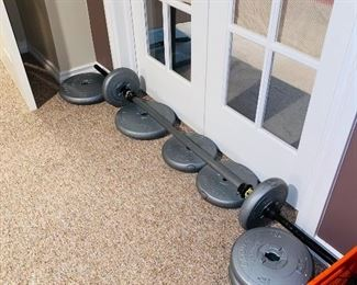 $150 WEIGHT SET