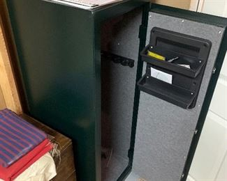 "$300 STACK-ON GUN SAFE  21""W x 20""D x 55.5""H"