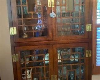 Henredon Asian Inspired Curio Cabinet
