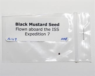 S5   Mustard Seed Flown Aboard the ISS Expedition 7	$38.95