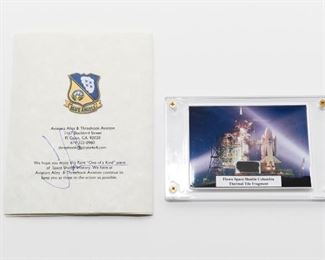S8   Thermal Tile Fragment Flown Space Shuttle Columbia	$52.95
