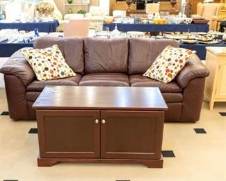 Leather FLEXSTEEL Couch!
